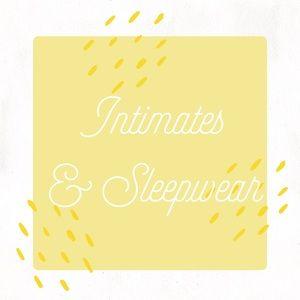 Intimates & Sleepwear